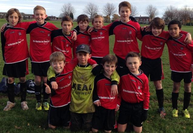 York Schoolboys U11's Green Un Cup Squad 23 Nov 2013 1